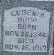 Eugenia <I>Rusk</I> Hogg