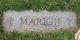 Profile photo:  Marion
