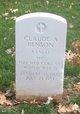 Profile photo:  Claude A Benson