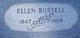 """Seplema Eleanor """"Ellen"""" <I>Porterfield</I> Bussell"""