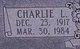 Charlie L Warren