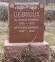Profile photo:  Alphonse Debroux