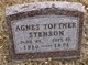 Profile photo:  Agnes <I>Toftner</I> Stenson