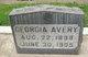Georgia Avery