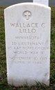 2LT Wallace C Lillo