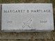 Profile photo:  Margaret B. <I>Hart</I> Hartlage