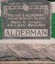 Mary <I>Wilcox</I> Alderman
