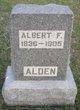 Profile photo:  Albert F. Alden