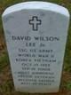 Profile photo: Sgt David Wilson Lee, Jr