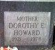 Mrs Dorothy Edna <I>Reeseman</I> Howard