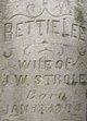 Profile photo:  Bettie Lee <I>Foltz</I> Strole