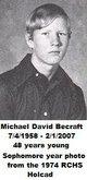 "Michael David ""Mike"" Becraft"