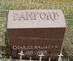 Charles Hallett G. Danford