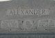Profile photo:  Annie Mary <I>Madden</I> Alexander