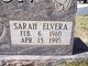 Sarah Elvera <I>Kissane</I> Mason