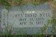James David Null, Sr