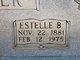 Estelle B Butler