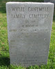 Wiley Cantwell Cemetery