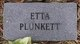Etta Plunkett