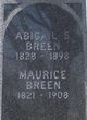 Profile photo:  Abigail S. Breen