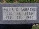 Profile photo:  Willis G. Andrews