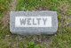Profile photo:  Welty