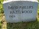 Profile photo:  David Phillips Hazelwood