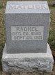 Rachel Catherine <I>Cunningham</I> Matlick