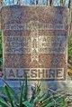 "Profile photo:  Ada Virginia ""Jennie"" <I>Fletcher</I> Aleshire"