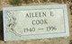 Profile photo:  Aileen E. Cook