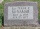 Rev Frank Eston McNamar