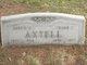 """Caroline E. """"Carrie"""" <I>Briggs</I> Axtell"""