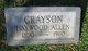 Grayson Haywood Allen