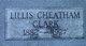 Lillis Cheatham Clark