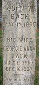 Georgie Anna <I>Grover</I> Back