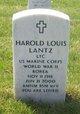 Profile photo: LTC   Harold Louis Lantz
