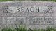 "Mary Belle ""Minnie"" <I>Valentine</I> Beach"
