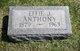 Profile photo:  Effie Jane <I>Noblitt</I> Anthony