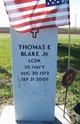 LCDR Thomas E Blake, Jr
