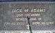 Sgt Jackie H Adams