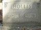 Effie Zellner <I>Hall</I> Hollis
