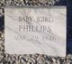 Profile photo:  Baby Girl Phillips