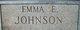 "Amanda E ""Emma"" <I>Reed</I> Johnson"