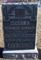 Henry B Atkinson