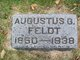 Profile photo:  Augustus G Feldt