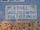 Ethel Mollie <I>Shelton</I> Littrell