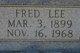 Fred Lee Hooten