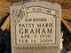 Patsy Marie <I>Springer</I> Graham