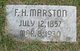Frank H. Marston