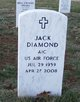 "Profile photo:  Fred Jack ""Jack"" Diamond"